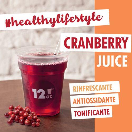 comuncazione prodotto, cranberry juice