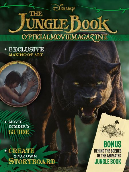 Magazine Disney Publishing, The Jungle Book in copertina