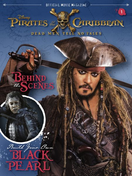 Magazine Disney Publishing, Pirata dei Caraibi in copertina