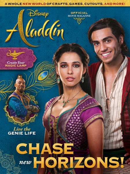 Magazine Disney Publishing, Aladdin in copertina